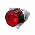 achterlicht, Ø 55mm, rood