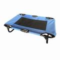 PegBed, blauw, opvouwbaar bed voor huisdieren, N
