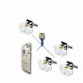 safetypack, 3x inbouwslot (wit), 1x carado set (wit)