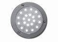 verlichting, inbouw, LED rond waterdicht, zonder schakelaar